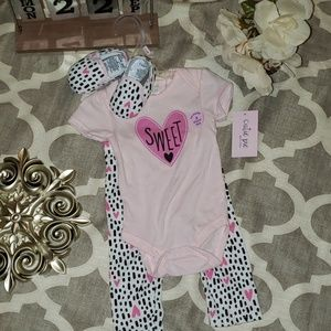 Sweet Baby Girl 3 Piece Outfit